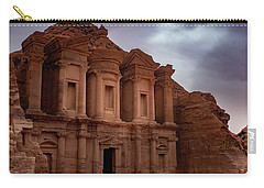 Petra's Monastery Carry-all Pouch
