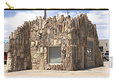 Petrified Wood Building Carry-all Pouch