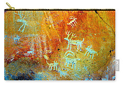 Petroglyph Panel Work 12 Carry-all Pouch
