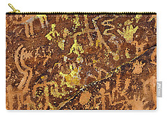 Petroglyph Records Carry-all Pouch by Phyllis Denton