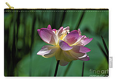 Petty Pink Lotus Carry-all Pouch by Paul Mashburn