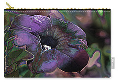 Petunia 1 Carry-all Pouch by Stuart Turnbull