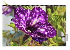 petunia nightsky,Helloween colors  Carry-all Pouch by Tamara Sushko