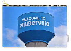 Pflugerville Texas - Water Tower Carry-all Pouch