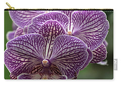 Carry-all Pouch featuring the photograph Phalaenopsis Orchid by Cristina Stefan