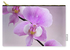 Phalaenopsis Schilleriana Fragrant Butterfly Orchid V2 Carry-all Pouch