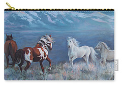 Phantom Of The Mountains Carry-all Pouch