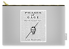 Phases Of Gage Book Poster  Carry-all Pouch