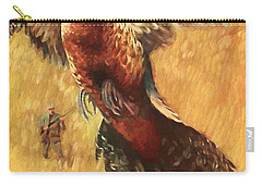 Pheasant Hunter Carry-all Pouch by Steven Parker