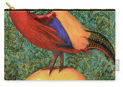 Pheasant On A Lemon Carry-all Pouch