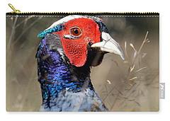 Pheasant Portrait Carry-all Pouch