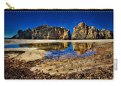 Carry-all Pouch featuring the photograph Pheiffer Beach #15 - Big Sur, Ca by Jennifer Rondinelli Reilly - Fine Art Photography