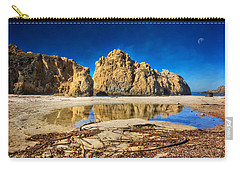 Carry-all Pouch featuring the photograph Pheiffer Beach - Keyhole Rock #16 - Big Sur, Ca by Jennifer Rondinelli Reilly - Fine Art Photography