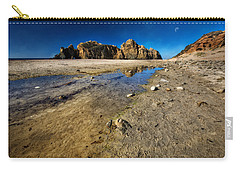 Carry-all Pouch featuring the photograph Pheiffer Beach -keyhole Rock #18 - Big Sur, Ca by Jennifer Rondinelli Reilly - Fine Art Photography