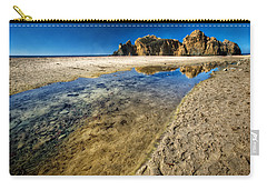 Carry-all Pouch featuring the photograph Pheiffer Beach- Keyhole Rock #19 - Big Sur, Ca by Jennifer Rondinelli Reilly - Fine Art Photography