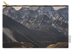 Carry-all Pouch featuring the photograph Pheriche In The Valley by Mike Reid