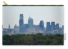 Philadelphia Green Skyline Carry-all Pouch