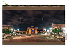 Carry-all Pouch featuring the photograph Philadelphia Museum Of Art by Marvin Spates