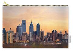 Philadelphia Skyline Carry-all Pouch by Lori Deiter