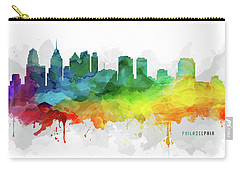 Philadelphia Skyline Mmr-uspaph05 Carry-all Pouch by Aged Pixel
