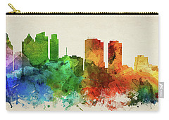 Philadelphia Skyline Panorama Uspaph-pa03 Carry-all Pouch