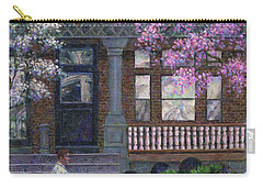 Philadelphia Street In Spring Carry-all Pouch