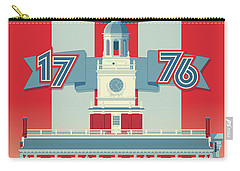Philadelphia Vintage Travel Poster Carry-all Pouch