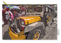 Philippines 1261 Jeepney Carry-all Pouch