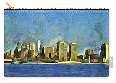 Philly Skyline Carry-all Pouch by Trish Tritz