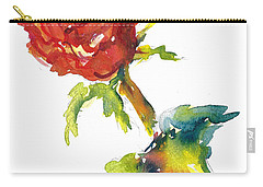 The Phoenix Rose Carry-all Pouch
