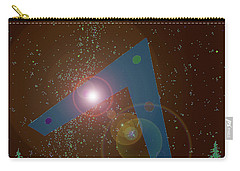 Carry-all Pouch featuring the painting Phoenix Lights Ufo by James Williamson