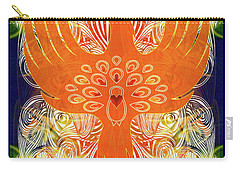 Phonix Rising Abstract Healing Art By Omashte Carry-all Pouch
