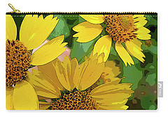 Yellow Wildflowers Photograph II Carry-all Pouch