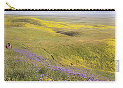 Carry-all Pouch featuring the photograph Photographing Carrizo by Marc Crumpler