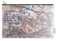Photography Is Carry-all Pouch by Rebecca Cozart
