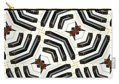 Piano Keys II Carry-all Pouch by Maria Watt