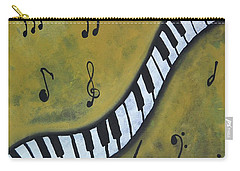 Piano Music Abstract Art By Saribelle Carry-all Pouch