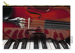Piano Reflections Carry-all Pouch by Garry Gay