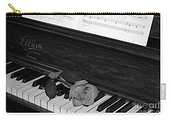 Piano Rose Carry-all Pouch
