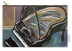 Piano With High Heel Carry-all Pouch