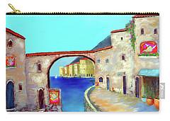 Piazza Del La Artista Carry-all Pouch by Larry Cirigliano