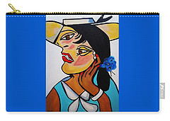 Yellow Hat Picasso Carry-all Pouch