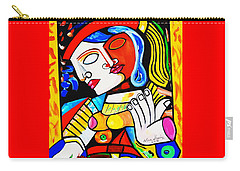 Picasso By Nora Turkish Man Carry-all Pouch