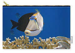 Picasso Fish And Klunzingerwrasse Carry-all Pouch