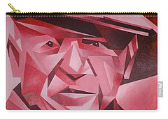 Picasso Portrait The Rose Period Carry-all Pouch by Tracey Harrington-Simpson