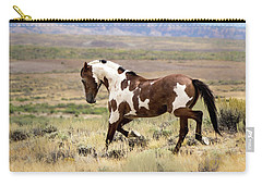 Picasso Strutting His Stuff Carry-all Pouch by Nadja Rider