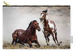 Picasso - Wild Stallion Battle Carry-all Pouch by Nadja Rider