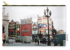 Piccadilly Circus 1950's Carry-all Pouch