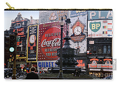 Piccadilly Circus, London, 1940's Carry-all Pouch