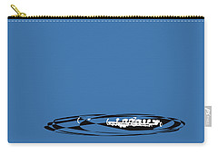 Piccolo In Blue Carry-all Pouch by David Bridburg